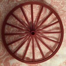 "Wheels -Plastic-4.5"" Paintable-Wagon/buggy Wheels- Set Of 4"