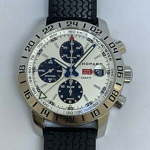 CHOPARD MILLE MIGLIA COMPETITOR WATCH SUPER LIMITED AUTOMATIC GMT FROM 2004