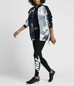 Nike Women's NSW Sportswear Montage Jacket Black 830429 010 Black New Size M
