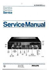 Service Manual-Anleitung für Philips 22 AH 305