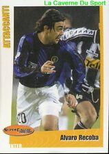 207 ALVARO RECOBA URUGUAY INTER STICKER SUPER CALCIO 2001 PANINI