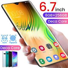 "6.7"" Android 10.0 Dual Sim 8Gb+256Bg FingerPrint Unlocking 13Mp+24Mp SmartPhone"