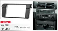 CARAV 11-498 2Din Marco Adaptador Radio Kit Instalacion BMW 3-series E46 1998-05