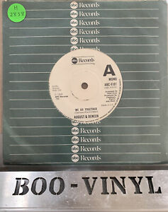"""AUGUST & DENEEN..WE GO TOGETHER..VERY GOOD 1968 ABC NORTHERN SOUL 7"""" ABC 4181"""