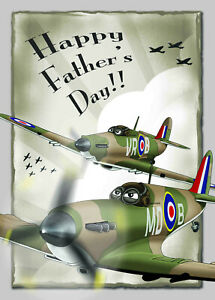FIGHTERS ~ Father's Day Card **** NEW Stock **** NEW stock **** NEW stock