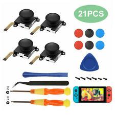 21 Pcs 3D Analógico Joystick thumb stick para Nintendo Switch Ns Joy-Con de substituição