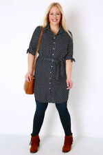 Spotted Dresses for Women with Belt
