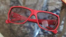 Stussy Red/Black - Wrap Style Women's Sunglasses