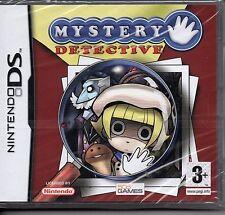 MISTERY DETECTIVE  (Nintendo DS) Lite Dsi xl 2ds 3ds XL