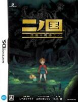 Ni no Kuni & Book Magic Master Ninokuni Nintendo DS Studio Ghibli japan