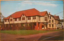 1960s Chrome Postcard: Vermont Natives Industries Wool Showroom- Bridgewater, VT