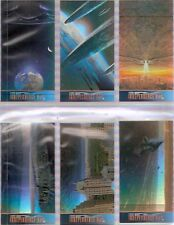 Tradingcards - ID4 - Independence Day Sonder Card Holo Foil-Set von 1996