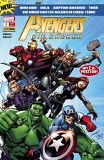 AVENGERS DIE RÄCHER (deutsch) ab # 1 - IRON MAN / HULK / THOR - PANINI 2012  TOP