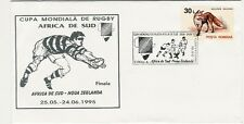 RWC 1995 Final South Africa v New Zealand Rugby Comm Cover 1 Of a Set