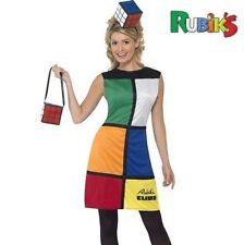 Smiffys Smiffy's - Costume per Travestimento da Cubo di Rubik con (y9v)