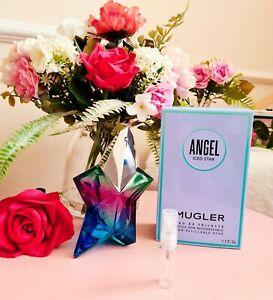 Mugler ANGEL ICED STAR Eau De Toilette 3ml sample perfume atomiser 🌌⭐ NEW 2021