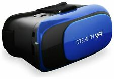 Stealth VR VR50 BLUE Virtual Reality Headset Apple & Android Smartphones NEW
