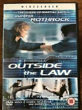 Cynthia Rothrock OUTSIDE THE LAW ~ Martial Arts Action Film | UK DVD