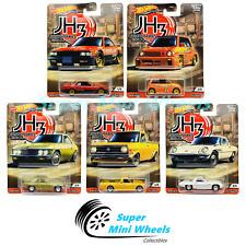 Hot Wheels Premium 2020 Car Culture P Case Japan Historics 3 Set of 5 Cars