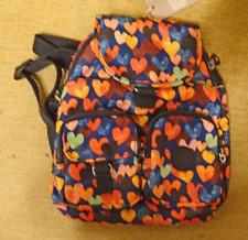 New Kipling Love Bug Printed Happy Dazzle Backpack