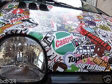 Crazy Stickerbomb Luftkanäle / Auto Folie / Sticker Bomb - Stickerbombing Folien