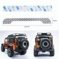 Rear roof Trim Panel + 3M Tape for Land Rover 1/10 RC Traxxas TRX4 Defender Car