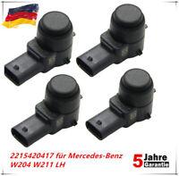 4 X Parksensor Parktronic PDC Sensor 2215420417 für Mercedes-Benz W204 W211 LH