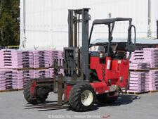 2005 Moffett M55 5,500 lbs Piggyback Rough Terrain Forklift Lift Truck bidadoo