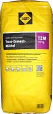 30kg Trass-Zement-Mörtel Sakret TZM Ansetz- und Verlegemörtel für Natursteine
