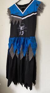 Haloween Dress Cheer Leader Age 11-12 Years