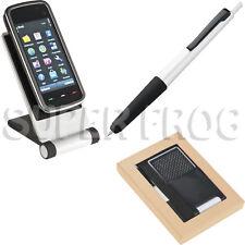 Telefono Cellulare Titolare Stand Pieghevole per Tablet Smartphone iPhone Monte Penna Touch