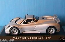 VOITURE MINIATURE PAGANI ZONDA C12S 1/43 IXO ALTAYA NEW SILVER SILBER ARGENT