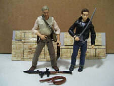 LOT OF 2 INDIANA JONES KINGDOM OF THE CRYSTAL SKULL ACTION FIGURES MUTT JACKET