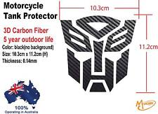 Transformer Tank Pad Protector Sticker for Motorcycle Tank 3D Carbon  Fibre