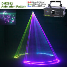 500mW RGB Animation Line Laser Projector Light DMX DJ Party Club Stage Lighting
