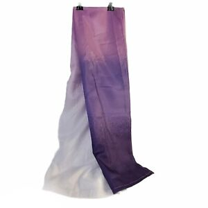 Mainstay Purple Ombre Fabric Shower Curtain  70 x 72 inches