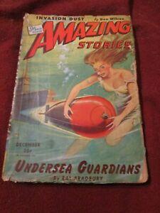 Amazing Stories December 1944 Ray Bradbury Emil Petaja Stanton A. Coblentz