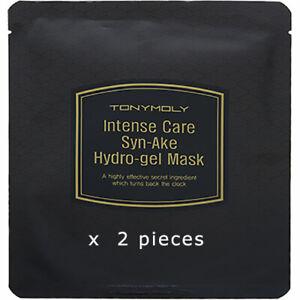 TONYMOLY Intense Care SYn-AKe Hydro-gel Mask 2 piecs Exp 12/2021