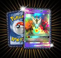 Galar Articuno Zapdos and Moltres GX Tag Team Pokemon Card in Holo