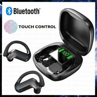 CUFFIE BLUETOOTH CON ARCHETTO AURICOLARI WIRELESS SENZA FILI IN EAR PER SPORT TV