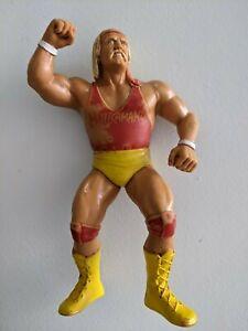 HULK HOGAN RED SHIRT  LJN WWE/WWF VINTAGE ACTION FIGURES,  SUPER RARE