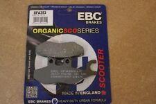 "EBC FRONT BRAKE PADS PIAGGIO SUPER HEXAGON GTX 125/128 (11"" WHEELS)   00 SFA353"