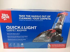 Dirt Devil FD50105 Quick and Light Carpet Washer / Cleaner - NEW