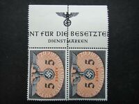 Germany Nazi 1940 Stamps MNH Swastika Eagle Pair 5z Generalgouvernement WWII Thi
