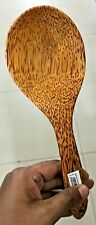 Wooden Coconut Spoon ( 100% Natural & Eco friendly & Handcrafted)