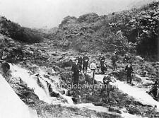"Photo 1890s Oahu Hawaii ""Nuuanu Valley - Citizens Protecting Against Insurgents"""