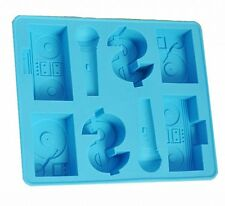 DJ Hip Hop karaoke Mold Silicone Ice Cube Tray Design Cake Clay TPR Fondont