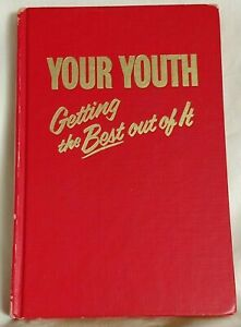 Jehovah Witness Watchtower 1976 YOUR YOUTH Getting The Best Out Of It HB 1st Ed
