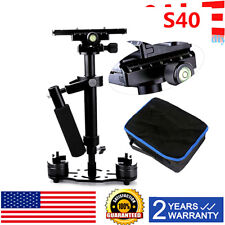 "Handheld Steadicam/Camera Stabilizer 16""/40cm, Quick Release Plate, Bag USA! S40"