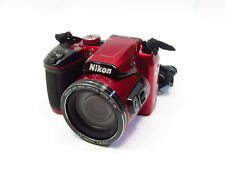Nikon Coolpix B500 16MP 3.0-in Compact Digital Camera - Red